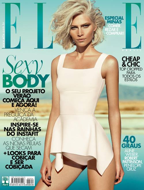 Aline Weber na capa da Elle Brasil de Setembro 1 Aline Weber na capa da Elle Brasil de Setembro